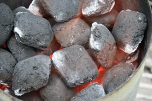 Charcoal in my Weber Chimney Starter