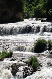 Willow Falls at Willow River State Park
