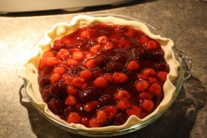 Cherry Pie Filling In Crust