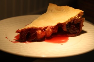 Sweet and Tart Cherry Pie