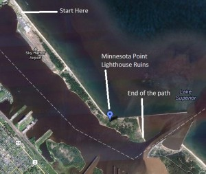 Minnesota Point Aerial View