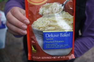 Deluxe Baked Instant Mashed Potatoes