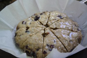 Door County Cherry Scones