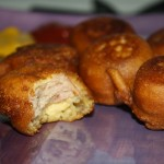 Kielbasa Corn Dog Bites