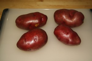 Dutch Oven Baked Red Potatoes